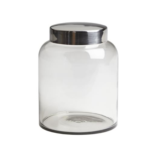 Glass Apothecary Jar, Large