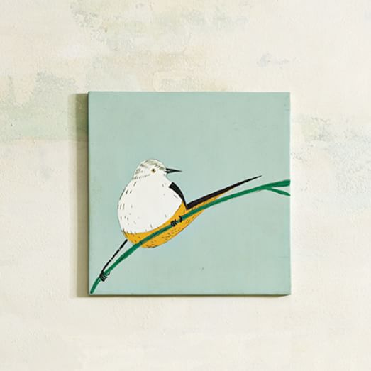 Gemma Orkn Tile, Yellow Belly Bird, Small