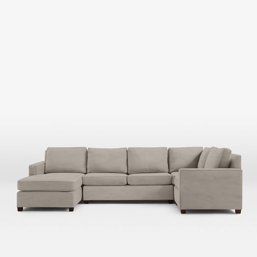 henry 4 piece chaise sectional west elm On chaise henri 4