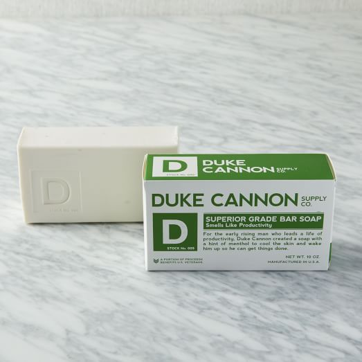 Duke Cannon Superior Grade Soap, Peppermint + Clean Mint, Productivity