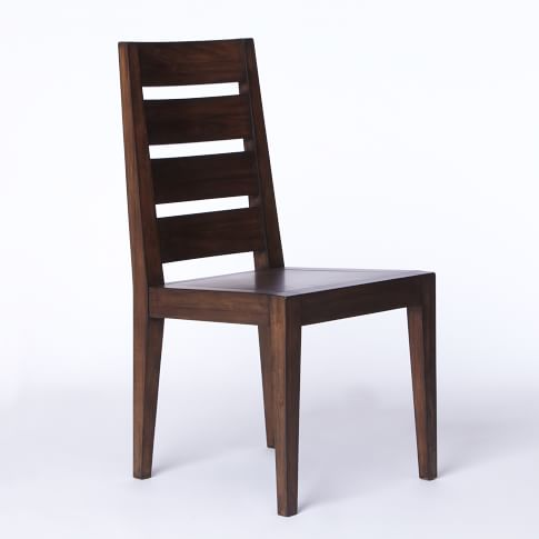 Degraw Dining Chair, Solid Wood Bourbon