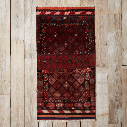 Assorted Turkish Rugs - Allover Diamond Patterned, 6x3