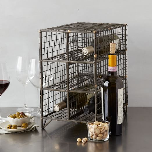 Wire Wine Rack, Small