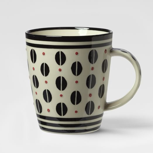 Potters Workshop Mug, Bean