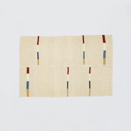 Steven Alan Aliye Wool Rug, 2'x3', Ivory