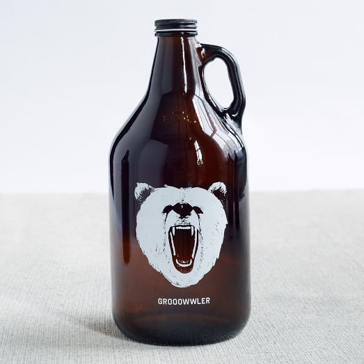 Printed Growler, Grooowwler