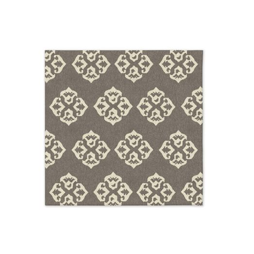 Andalusia Wool Dhurrie - Platinum