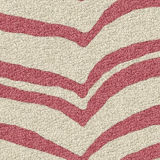 Custom Safari Rug, Macaroon Pink, 16
