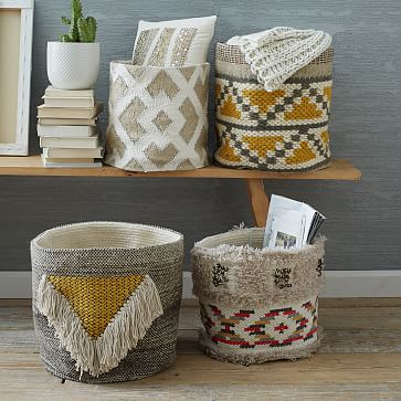 Laundry Hamper Baskets Bags And Ironing Board West Elm