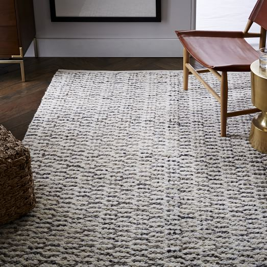Popcorn Wool Shag Rug West Elm