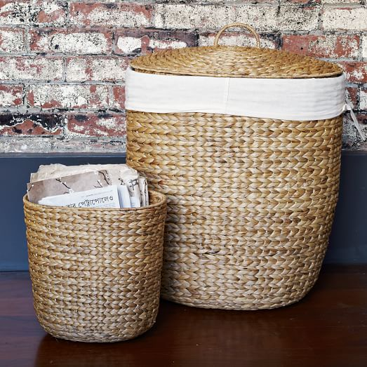 Tall Curved Basket
