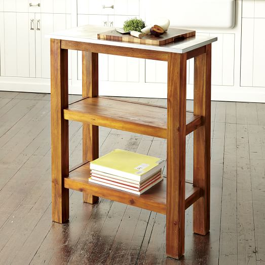 Rustic Kitchen Prep Counter West Elm