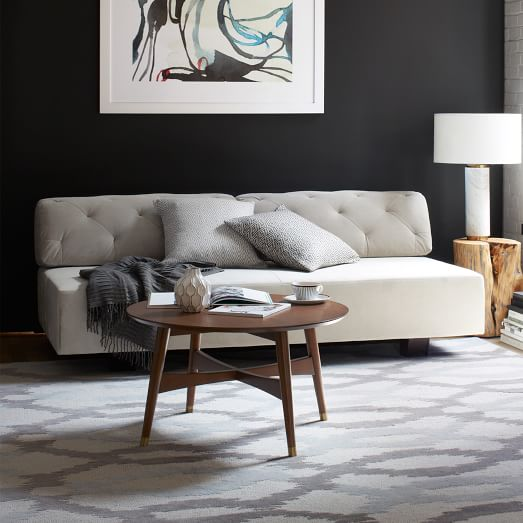 Tillaryr tufted sofa west elm for West elm tillary sectional sofa