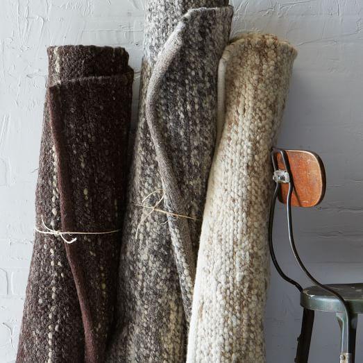 West Elm Wool Rug: Sweater Wool Rug