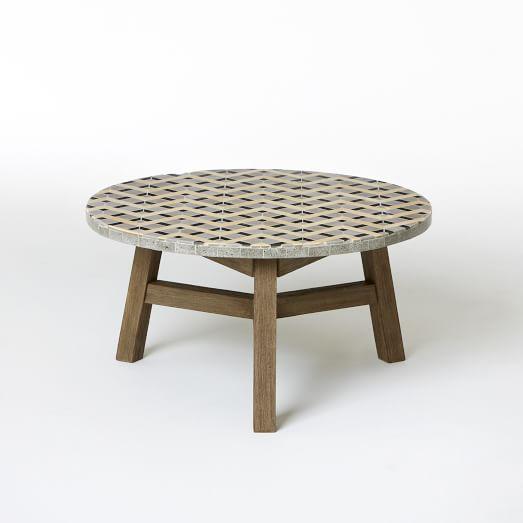 Gray Zigzag Top + Driftwood