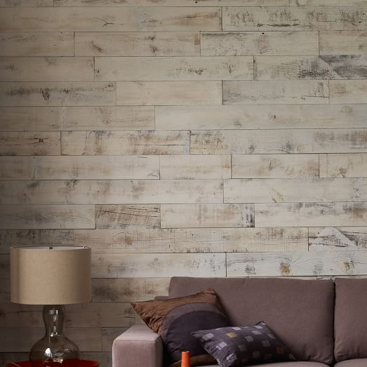 Stikwood Adhesive Wood Paneling 20 Sq Set West Elm