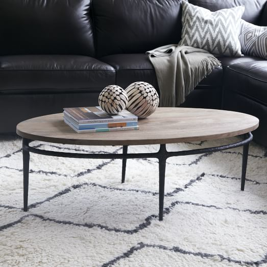 Cast Base Coffee Table