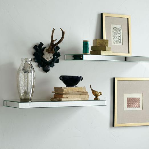 Paxton Wall Shelf Mirror West Elm