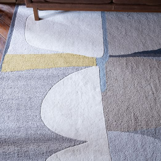 Christopher Wynter Abstract Wool Rug - Multi