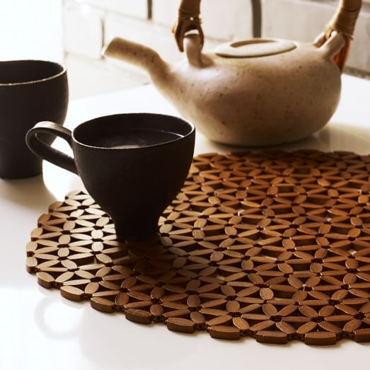 Round Bamboo Placemat West Elm