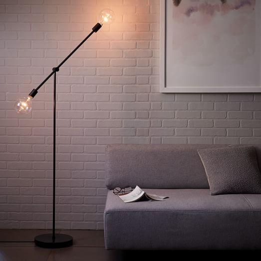 Mobile Floor Lamp