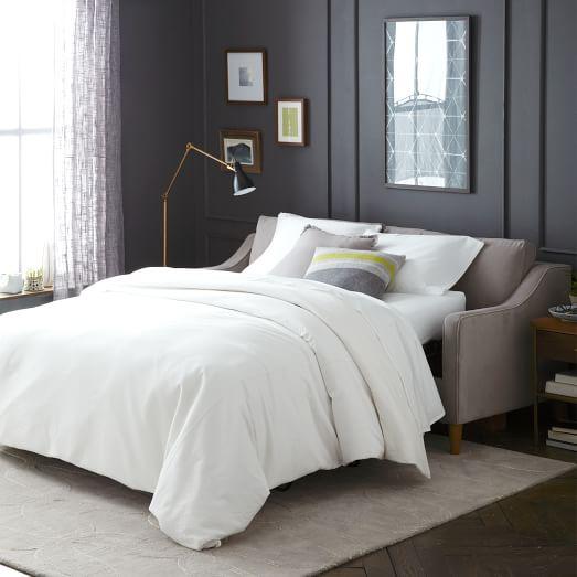 paidge sleeper sofa west elm. Black Bedroom Furniture Sets. Home Design Ideas