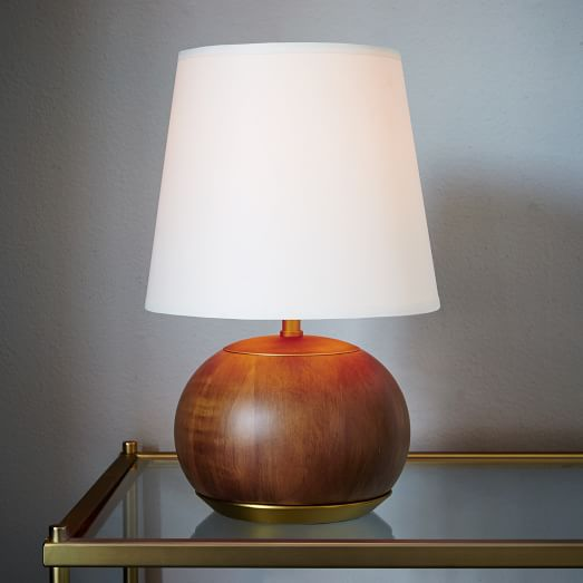 West Elm Rejuvenation Mid Century Wood Table Lamp