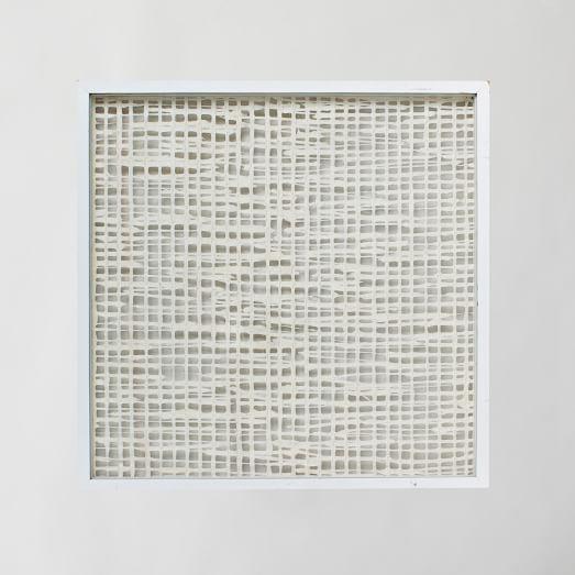 handmade paper wall art white west elm