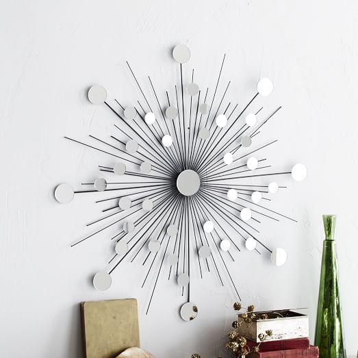 sunburst wire wall art west elm. Black Bedroom Furniture Sets. Home Design Ideas