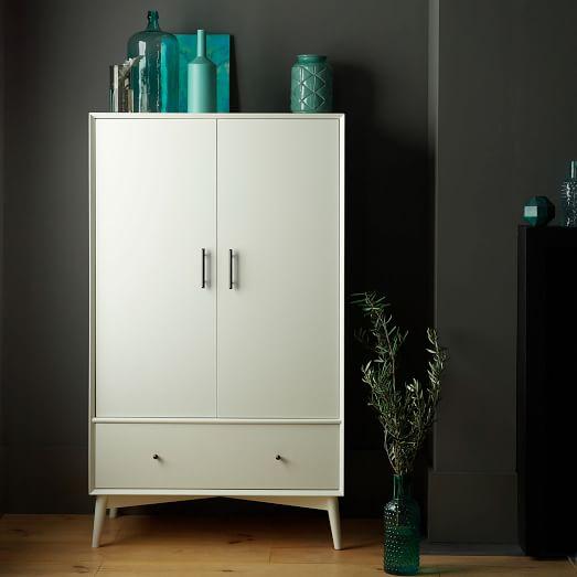 Mid-Century Wardrobe - White
