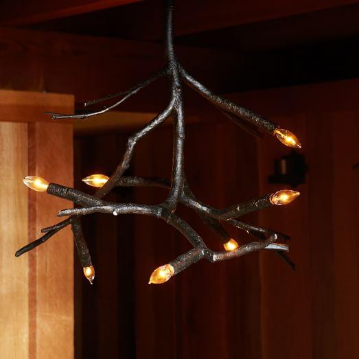 branch chandelier west elm. Black Bedroom Furniture Sets. Home Design Ideas