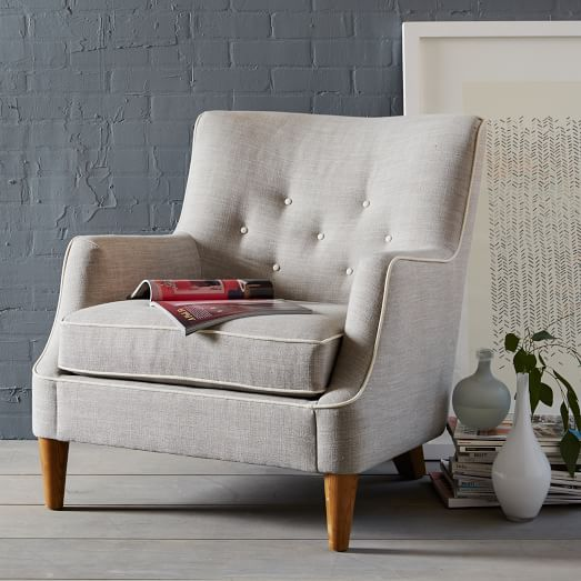 Livingston Chair - Contrast Trim