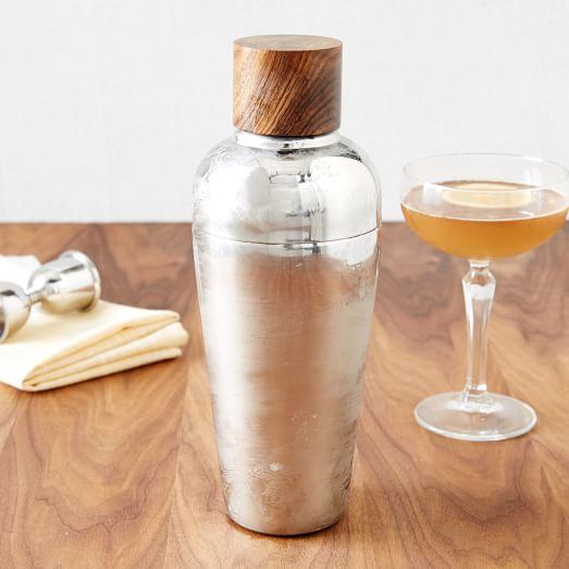 mid century cocktail shaker west elm. Black Bedroom Furniture Sets. Home Design Ideas