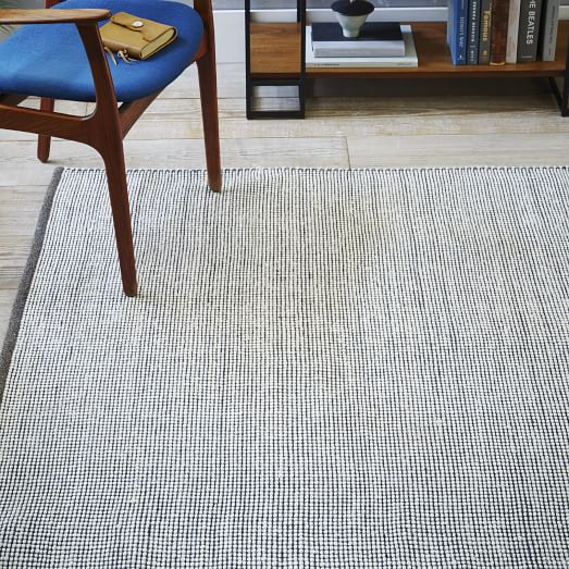 Micro Dot Wool Rug - Runner