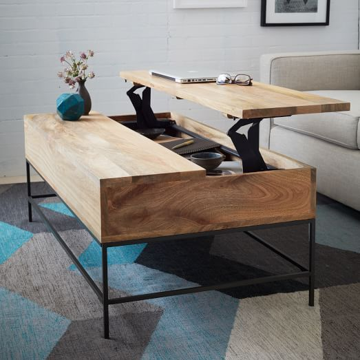 modern rustic coffee table canada 2