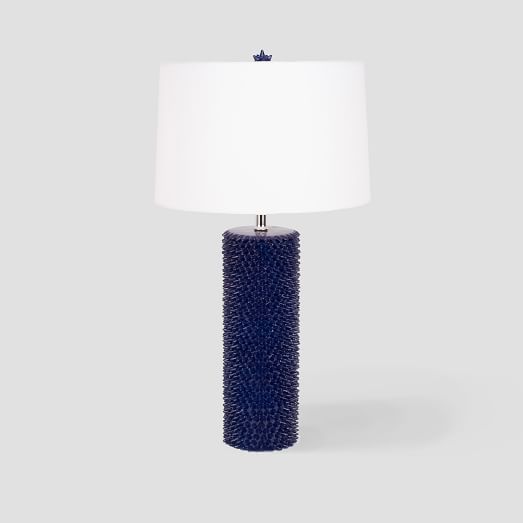Textured Cylinder Table Lamp