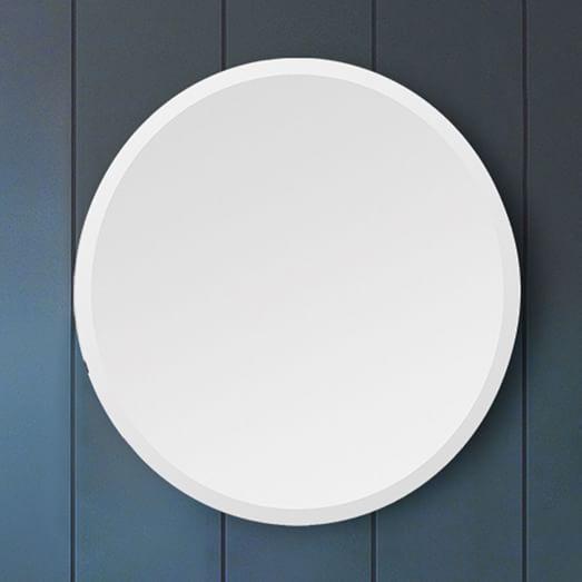 Frameless Round Wall Mirror West Elm