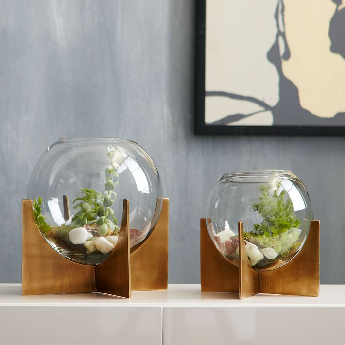cross base terrariums