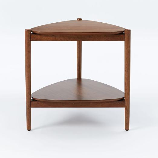 Retro tripod side table west elm for Retro end tables