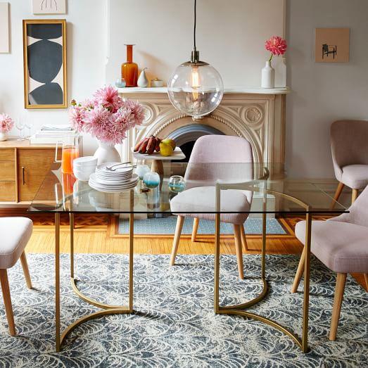 carraway dining table west elm. Black Bedroom Furniture Sets. Home Design Ideas