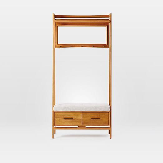 mid century hall stand west elm. Black Bedroom Furniture Sets. Home Design Ideas