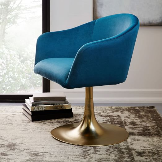 Bond Upholstered Swivel Office Chair
