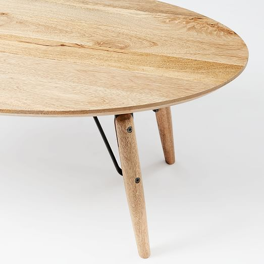 Graphica Oval Coffee Table