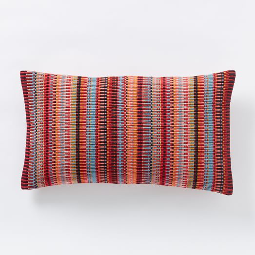 Margo Selby Mini Blocks Pillow Cover - Red