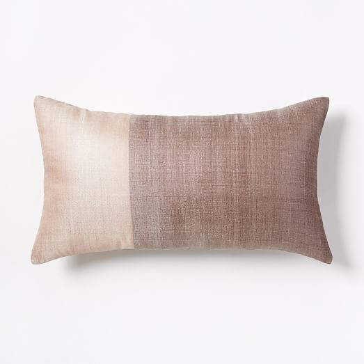 sari silk pillow cover rosette west elm. Black Bedroom Furniture Sets. Home Design Ideas