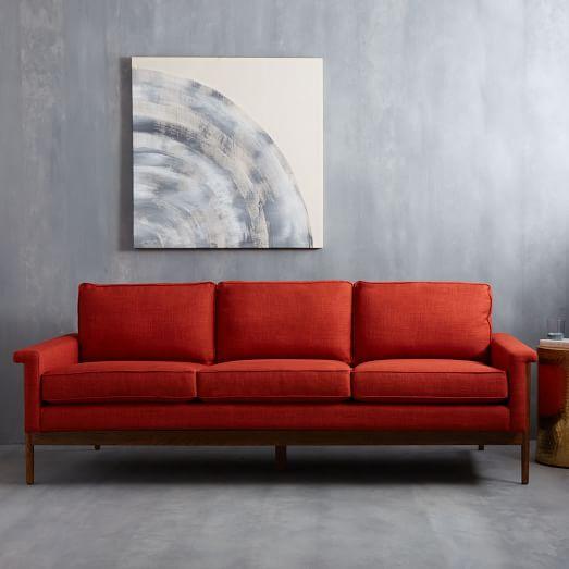 Leon S Furniture Sectional Sofas: Leon Wood Frame Sofa