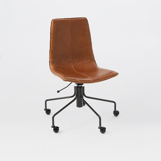 Slope Leather fice Chair