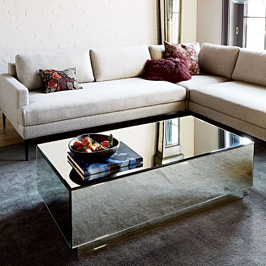 Geo Mirror Storage Coffee Table