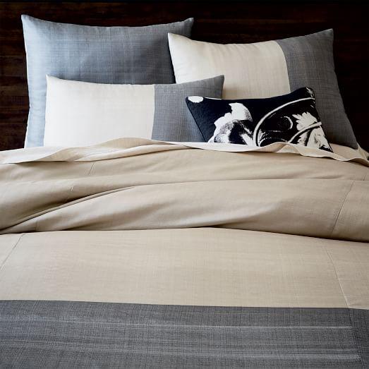 sari silk duvet cover shams west elm. Black Bedroom Furniture Sets. Home Design Ideas