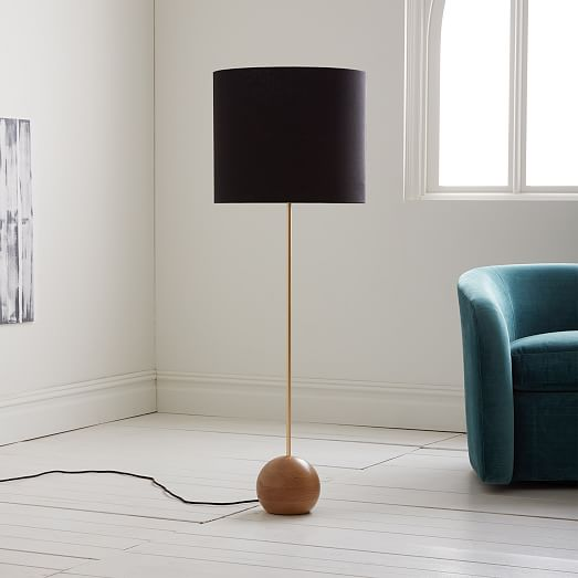 Rejuvenation Stand Floor Lamp Wide West Elm